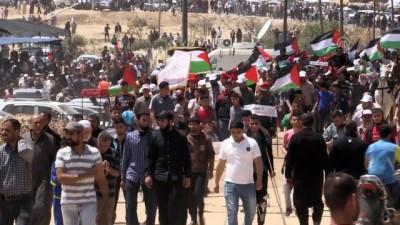biber gazi - İsrail askerleri Gazze'de 47 Filistinliyi yaraladı