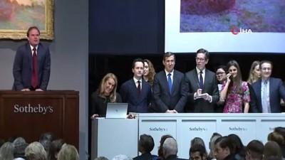 ressam -  - Monet'nin Tablosu 110,7 Milyon Dolara Satıldı