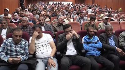 Ağrı'da yaptırılacak 200 TOKİ konutunun hak sahipleri belirlendi