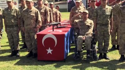 Aydın'da engellilerin askerlik heyecanı