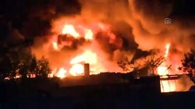 Başkentte organize sanayi bölgesinde yangın - ANKARA