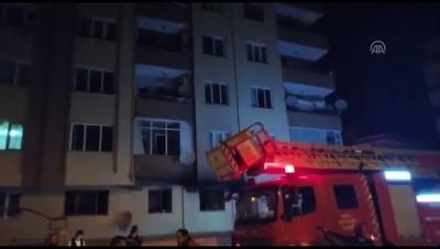 yangina mudahale - Bursa'da yangın