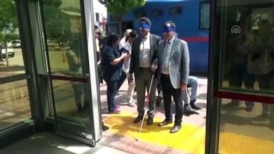 gorme engelli - Devlet Hastanesi'nde Engelliler Haftası etkinliği - AFYONKARAHİSAR
