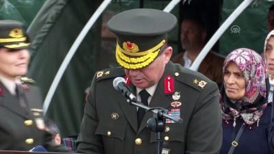 engelli genc - Engelliler askerlik heyecanı yaşadı - ANKARA