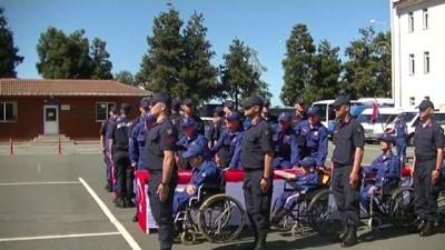 Engellilerin bir günlük askerlik heyecanı - RİZE