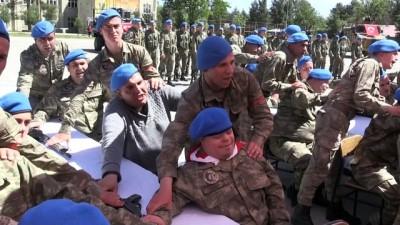 engelli genc - Engellilerin bir günlük askerlik heyecanı - SİİRT
