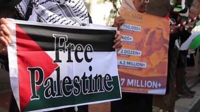 protesto - Güney Afrika'da İsrail protestosu - CAEP TOWN