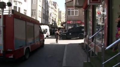 Okmeydanı'nda hava destekli terör operasyonu: Çok sayıda gözaltı