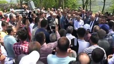 Ordu'daki heyelan - Büyükşehir Belediye Başkanı Güler: 'Vatandaşlarımız mağdur olmayacaklar'