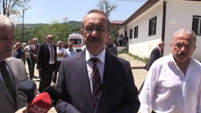 Ordu'daki heyelan - Vali Yavuz: 'Şu an itibari ile 22 bina, 31 konut ve bir cami maalesef yıkıldı'