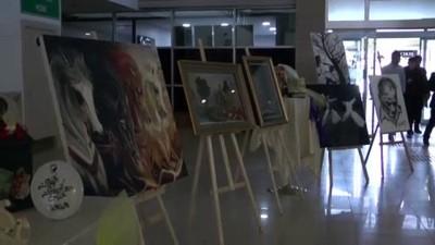 adliye binasi - Tutuklu ve hükümlülerin yaptığı eserler sergilendi - VAN