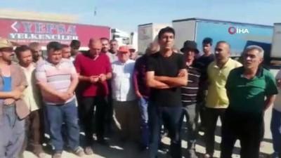 - Yüze Yakın Türk Tır Şoförü, 26 Gündür Özbekistan'da Mahsur - Tır Şoförleri Çölde Hastalıklarla Boğuşuyor