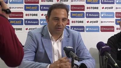 devre arasi - Boluspor - Eskişehirspor maçının ardından - BOLU
