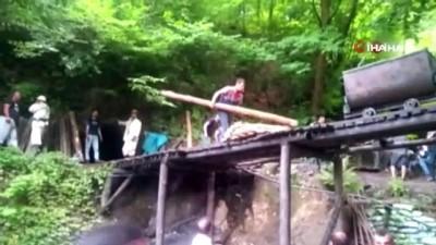 Kaçak maden ocağında göçük: 1 yaralı