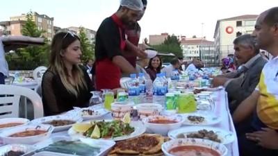 Siverek'te şehit aileleri ile gazi ve yakınlarına iftar yemeği