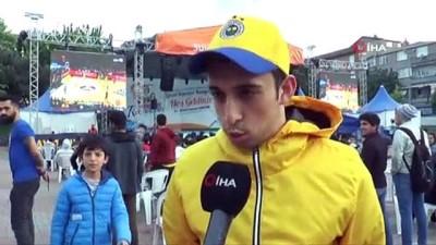 gorece -  Sultangazi'de dev ekranda Final Four heyecanı