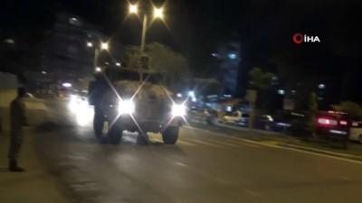 Suriye sınırına gece yarısı asker takviyesi yapıldı