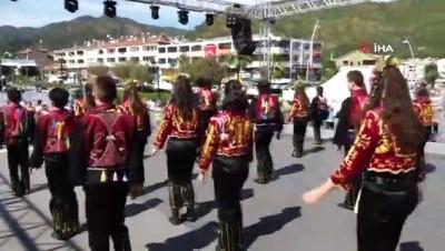 festival -  Uluslararası Marmaris Halk Dansları Festivali başladı