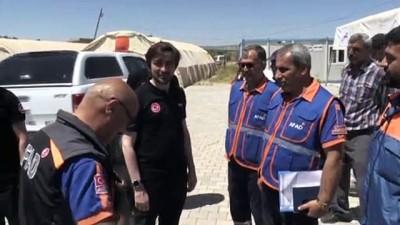 ic savas - AFAD Başkanı Güllüoğlu Suriyeli öğrencilerle buluştu - KİLİS