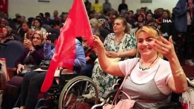 isaret dili -  Ankara Büyükşehir Belediyesi'nden engelleri kaldıran etkinlik