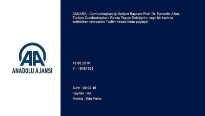 yasli kadin - Erdoğan'dan yaşlı kadınla seçim sohbeti - İSTANBUL