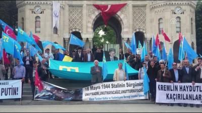 basin aciklamasi - Kırım Tatar Türkleri sürgünün 75. Yılı - İSTANBUL