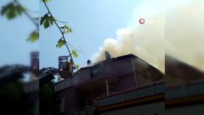 yangina mudahale -  Manisa'da ev yangını