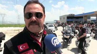 Motorculardan '19 Mayıs Ata'ya Saygı Sürüşü' - ÇORUM