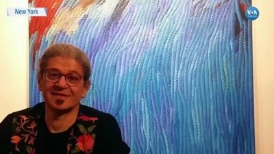 ressam - Ressam Ahmet Yeşil'in 'Sesler ve İzler' Temalı Eserleri New York'ta Sergilendi