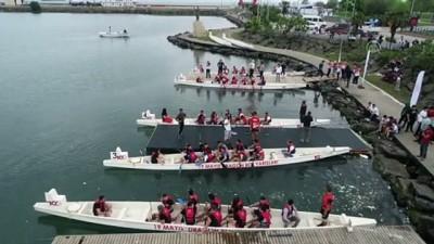 Samsun'da dragon bot yarışları başladı (2)