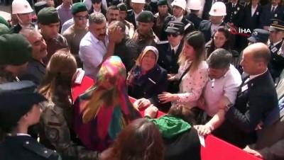 Şehit Kayadibi törenle memleketine uğurlandı