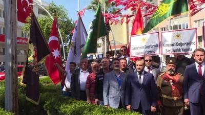 basin aciklamasi - Sökülen Osmanlı tuğralarının Torbalı Meydanı'na takılması talebi - İZMİR