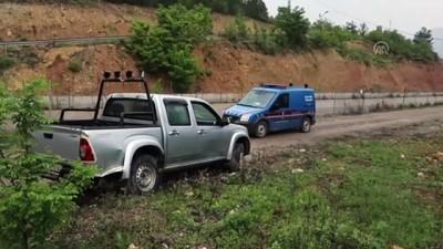 Su kanalına devrilen pikabın sürücüsü öldü - KASTAMONU