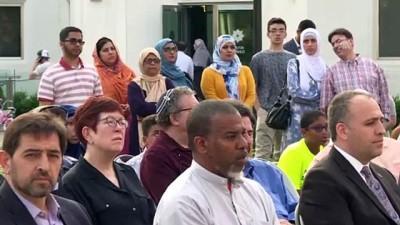 protesto - ABD'de New Haven Diyanet Camisi'nin kundaklanması - WASHİNGTON