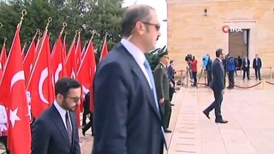 Ankara'da 19 Mayıs törenleri Anıtkabir'de başladı