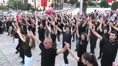 hatira fotografi - Atatürk'ün Samsun'a çıkışının 100. yılında atabarı oynadılar - HATAY