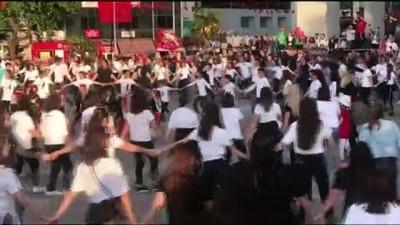 Atatürk'ün Samsun'a çıkışının 100. yılında 'atabarı' oynadılar - SAKARYA /ZONGULDAK