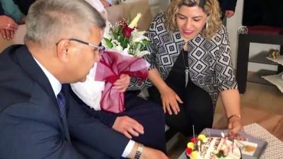 Atatürk'ün Samsun'a çıktığı gün doğan kadına doğum günü kutlaması - KARABÜK