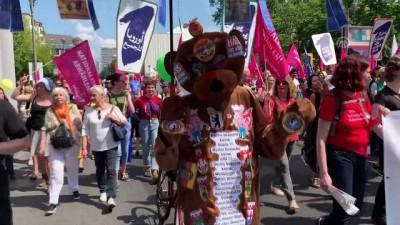 sivil toplum - Avrupa'daki ırkçılık Almanya'da protesto edildi - BERLİN