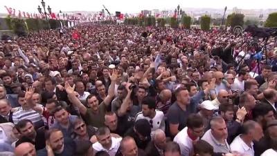 enflasyon - Cumhurbaşkanı Erdoğan: 'Nasıl ki, Gazi Mustafa Kemal, Hakk'a ve halka inanarak mücadelesini yürüttüyse, biz de aynı şekilde hareket ediyoruz.' - SAMSUN