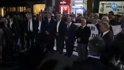 sivil toplum - İzmir'de İstanbul İçin 'Adalet Nöbeti'