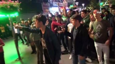 forma - Konya'da Galasaray'ın şampiyonluk kutlamasında gerginlik