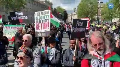 protesto - Londra'nın İsrail Karşıtı Yahudileri