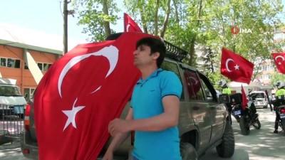Motosiklet ve Off-Road tutkunlarından 19 Mayıs'da Türk bayraklı kortej