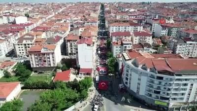 Öğrencilerden Bandırma Vapuru ve Türkiye Haritası koreografisi