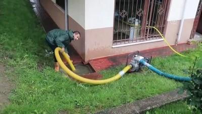 Sağanak su baskınlarına yol açtı - BOLU