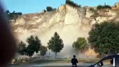 polis ekipleri - Şanlıurfa'da bir haftada aynı yerde ikinci heyelan
