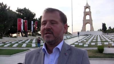 akkale - 'Şehit tıbbiyeliler' anıldı - ÇANAKKALE