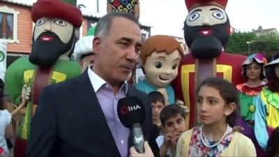 iftar sofrasi -  Sultangazi'de çocuklar iftarda bir araya geldi