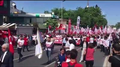 sivil toplum - TGB'den 19 Mayıs yürüyüşü - İSTANBUL